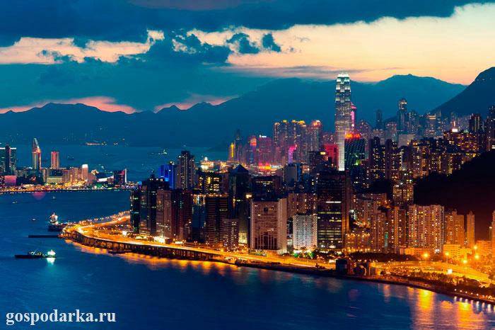 Гонконг---Китай