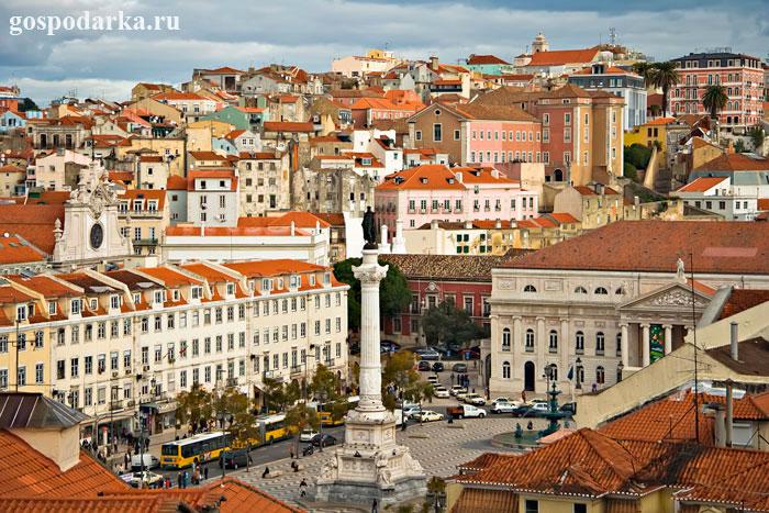 Лиссабон---столица-Португалии
