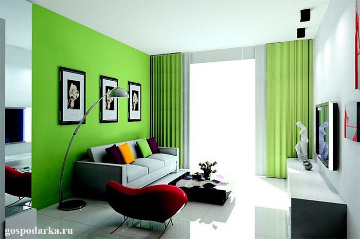 зелёная-гостиная