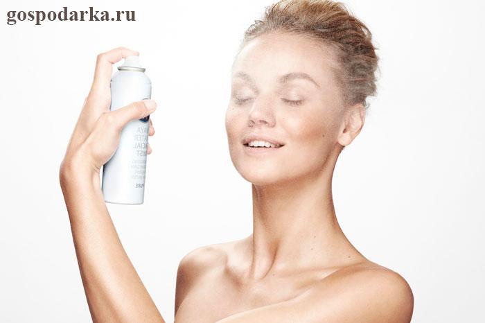 Увлажняющий спрей для лица своими руками