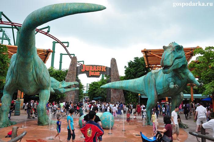 парк развлечений Universal-Studios