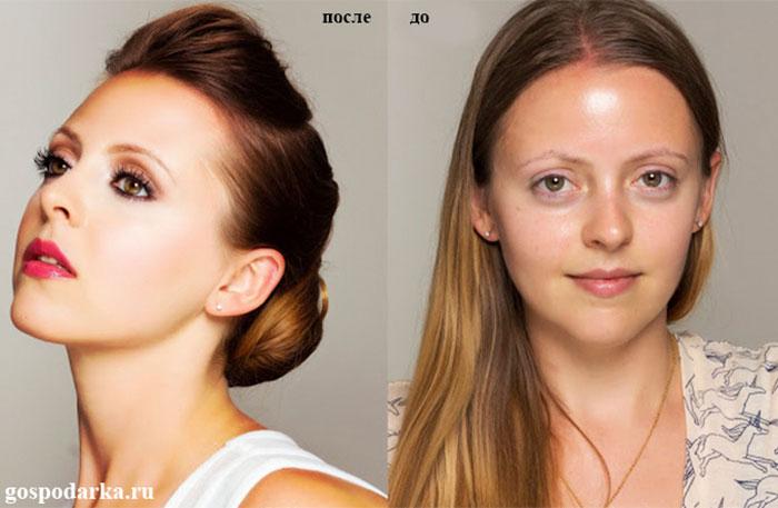 красивый макияж может преобразить любую девушку