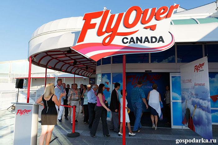 Ванкувер - FlyOver Canada