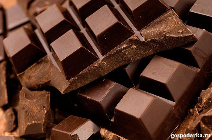 тёмный-шоколад