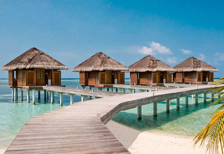 бунгало-на-Мальдивских-островах