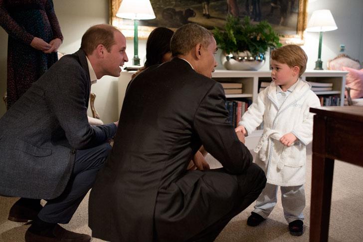 Маленький-Принц-Джордж-разговаривает-с-Бараком-Обамой