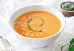Морковно-кокосовый суп за 20 минут – пошаговый рецепт
