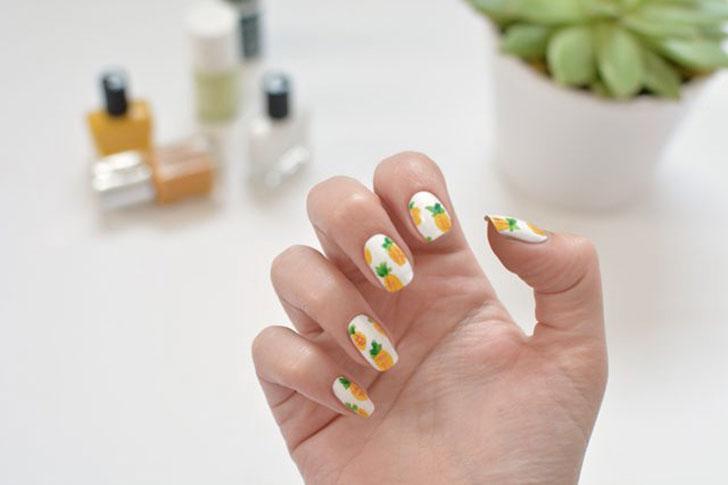 ананасовый-дизайн-ногтей