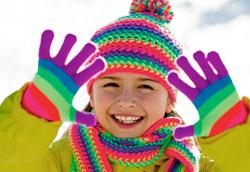 Как заставить ребенка одеваться тепло зимой?