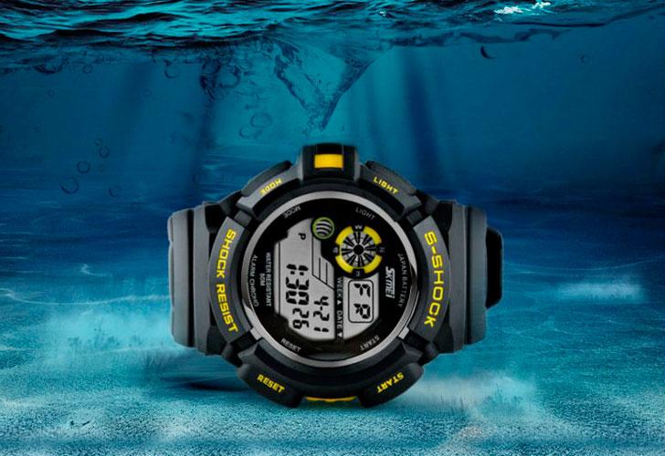 водостойкие-часы