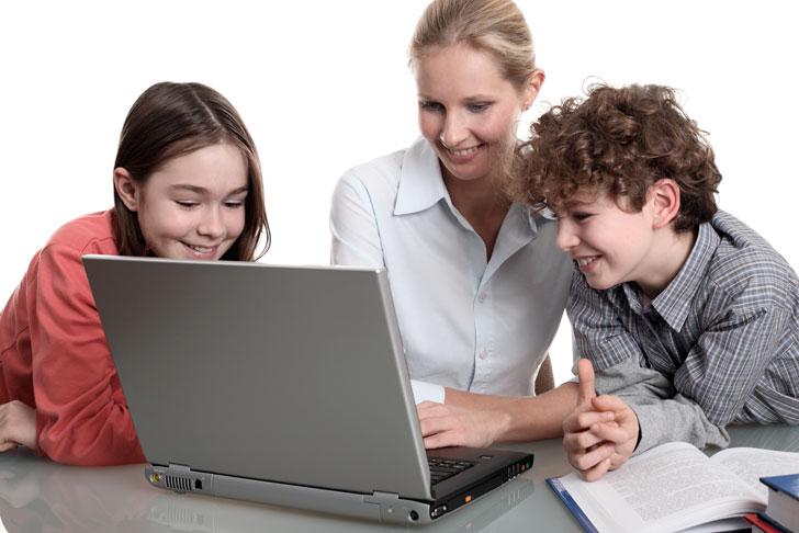 домашнее онлайн обучение