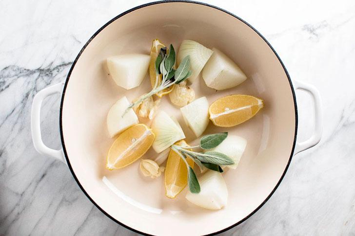 ингредиенты для запекания индейки в духовке