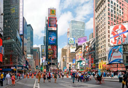 Как развлечься на Таймс-Сквер в Нью-Йорке?