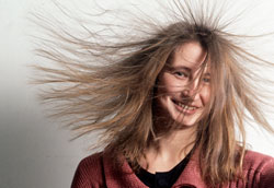 Как избавиться от статики волос этой зимой?