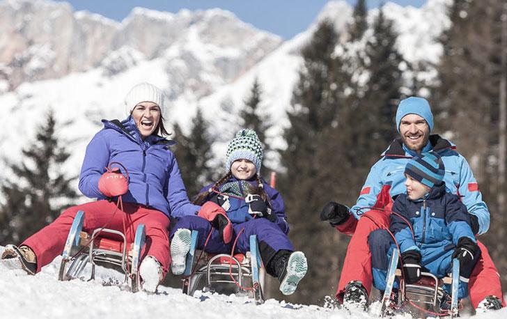 зимние развлечения с детьми