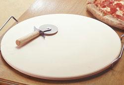 Как закалить камень для выпечки пиццы?