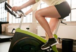Как похудеть на 10 кг с помощью велотренажера?
