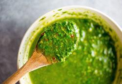 Соус чимичурри: простой пошаговый рецепт с фото