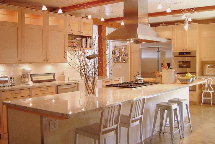 кухня нейтрального цвета