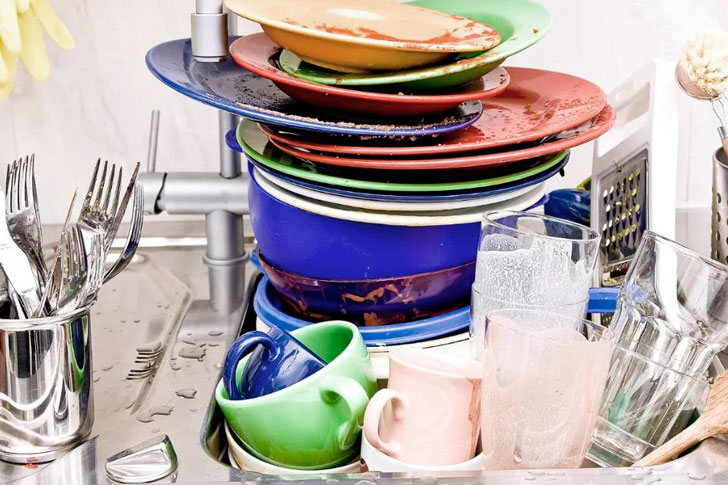 как дезинфицировать посуду