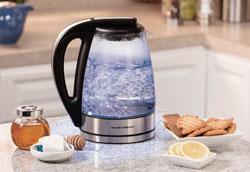 Как очистить электрический чайник от накипи?