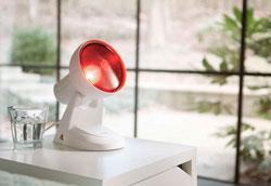 Красная лампа для лечения синусита