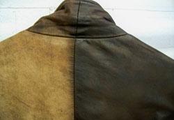 Как почистить светлую кожаную куртку?