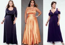 Какие платья лучше всего подходят полным женщинам?
