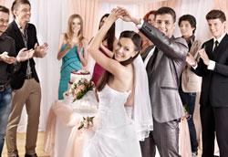 Самые доступные места для проведения свадьбы