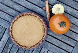 Как приготовить диетический тыквенный пирог без глютена?