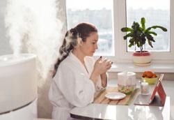 Как повысить влажность воздуха в квартире зимой?