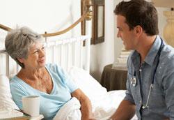 Как обустроить спальню для пожилого человека?