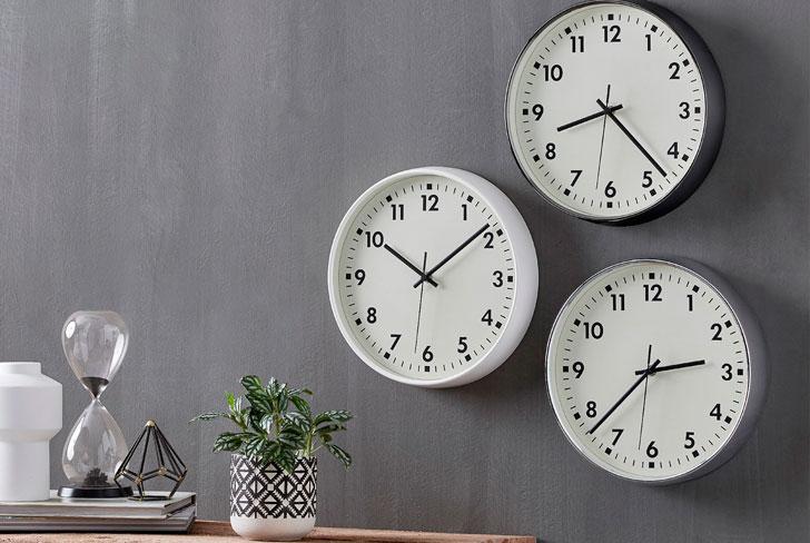 кварцевые настенные часы