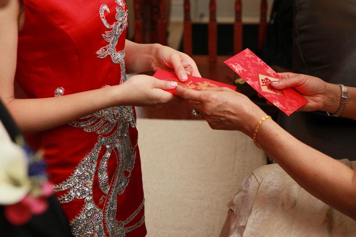 китайские красные конверты