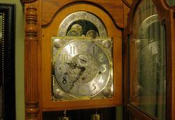 Как разобрать напольные часы?