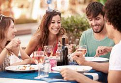 Основные преимущества походов в ресторан