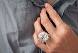 Как сделать оригинальное кольцо из алюминиевой проволоки?
